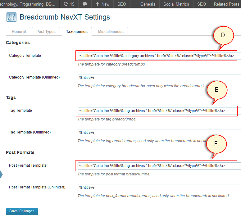 adding microdata breadcrumb to wordpress using breadcrumb navxt -3
