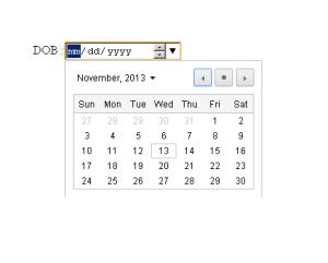 Date picker - html 5