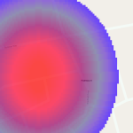 PostGIS Raster Rendered in Map - Close up